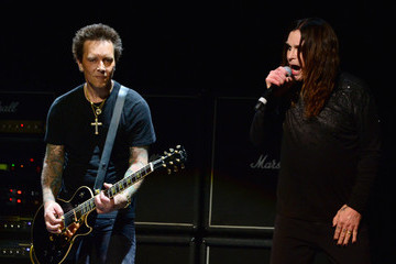 Ozzy Osbourne Billy Morrison 10th Annual MusiCares MAP Fund Benefit Concert
