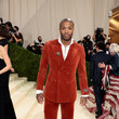 P.J. Tucker The 2021 Met Gala Celebrating In America: A Lexicon Of Fashion - Arrivals