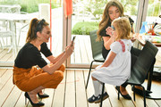 Elizabeth Chambers and Harper Grace Hammer Photos Photo