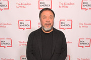 Ai Weiwei attends PEN America 2018 LitFest Gala at the Beverly Wilshire Four Seasons Hotel on November 02, 2018 in Beverly Hills, California.