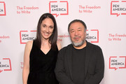 Executive Director of PEN America Los Angeles Michelle Franke and Ai Weiwei attend PEN America 2018 LitFest Gala at the Beverly Wilshire Four Seasons Hotel on November 02, 2018 in Beverly Hills, California.
