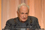 Frank Gehry speaks onstage during PEN America 2018 LitFest Gala at the Beverly Wilshire Four Seasons Hotel on November 02, 2018 in Beverly Hills, California.