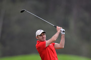 Colm Moriarty of Drive Golf Performance Limited plays his second shot on the 3rd fairway during the second round of the PGA Play-Offs at Antalya Golf Club - PGA Sultan Course on November 28, 2015 in Antalya, Turkey.