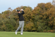 David Higgins of Waterville Golf Links in action during Day 3 of the PGA Play-Offs at Walton Heath Golf Club on November 1, 2017 in Tadworth, England.