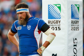 PJ van Lill Tonga v Namibia - Group C: Rugby World Cup 2015