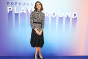 Mandy Moore attends the POPSUGAR Play/ground at Pier 94 on June 22, 2019 in New York City.