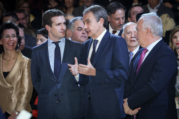 Pablo Casado Spanish Royals Attend A Concert To Commemorate The 40th Anniversary Of The Spanish Constitution