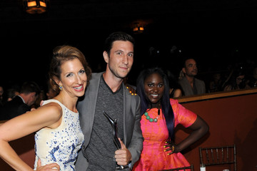 Pablo Schreiber Danielle Brooks Backstage at the Young Hollywood Awards