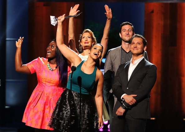 Young Hollywood Awards Show [entertainment,performance,performing arts,event,musical,stage,musical theatre,heater,talent show,fun,actors,danielle brooks,matt mcgorry,alysia reiner,dascha polanco,pablo schreiber,young hollywood awards,l-r,samsung galaxy,samsung galaxy - show]