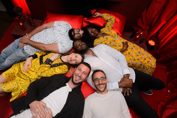 STARZ 'American Gods' House Of The Gods Intimate Experience [house of the gods,american gods,red,fun,event,design,photography,party,pattern,mousa kraish,emily browning,pablo schreiber,demore barnes,yetide badaki,experience,experience,starz]