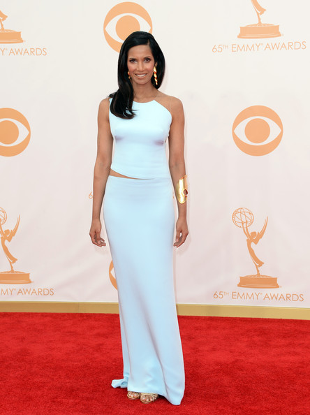 Padma Lakshmi - Arrivals at the 65th Annual Primetime Emmy Awards — Part 5