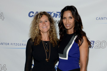 Padma Lakshmi Annual Charity Day Hosted By Cantor Fitzgerald And BGC - Cantor Fitzgerald Office - Arrivals