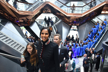 Padma Lakshmi Hudson Yards, New York's Newest Neighborhood, Official Opening Event