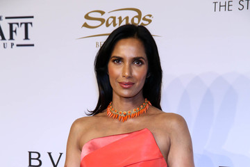 Padma Lakshmi Elton John AIDS Foundation's 15th Annual An Enduring Vison Benefit at Cipriani Wall Street