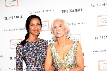 Padma Lakshmi Laurie Simmons and Carroll Dunham Honored in NYC