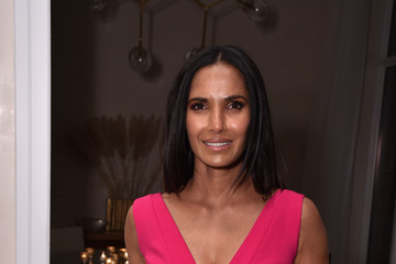 Padma Lakshmi FIJI Water With The Cinema Society Host A Special Screening Of 'Captain Marvel'