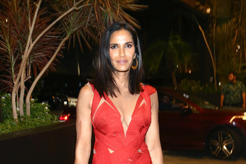 Padma Lakshmi Michael Che and Colin Jost's Emmys After Party Presented by Google
