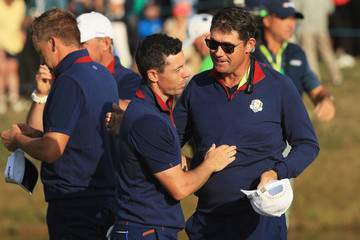 Padraig Harrington 2018 Ryder Cup - Afternoon Foursome Matches