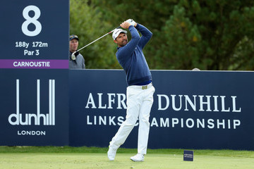 Padraig Harrington Alfred Dunhill Links Championship - Day Two