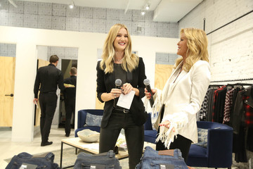 Paige Adams Geller Rosie Huntington-Whiteley and Paige Adams-Geller Host PAIGE SoHo Event