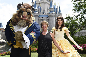 Paige O'Hara Actress And Disney Legend Paige O'Hara Vacations At Walt Disney World