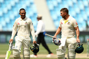 Aaron Finch and Usman Khawaja Photos Photo