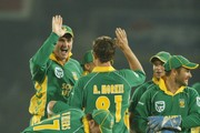 Albie Morkel and Graeme Smith Photos Photo