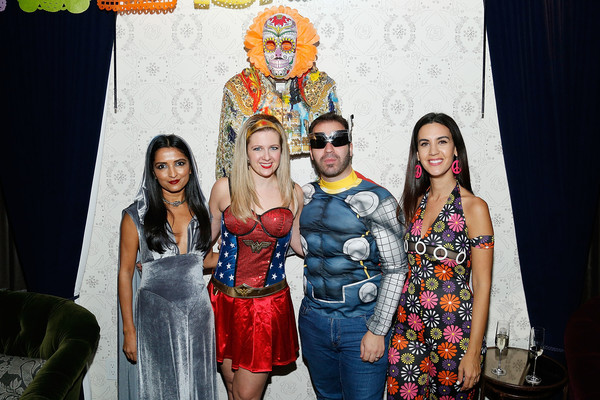 Lauren Scala And Natalie Zfat's Fourth Annual Scaring Is Caring Halloween Party