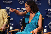 Rosa Salazar of 'Undone' appears on stage at The Paley Center For Media's 2019 PaleyFest Fall TV Previews - Amazon at The Paley Center for Media on September 06, 2019 in Beverly Hills, California.