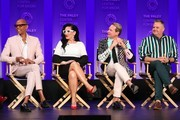 "RuPaul Charles, Michelle Visage, Carson Kressley and Ross Matthews attend the Paley Center For Media's 2019 PaleyFest LA - ""RuPaul's Drag Race"" held at the Dolby Theater on March 17, 2019 in Los Angeles, California."