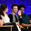 Jane Lynch Chris Colfer Photos