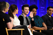 Jane Lynch Chris Colfer Photos Photo