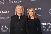 Joe Walsh and Marjorie Walsh attend the Paley Center for Media's 'Paley Honors In Hollywood: A Gala Tribute To Music On Television' at the Beverly Wilshire Four Seasons Hotel on October 25, 2018 in Beverly Hills, California.