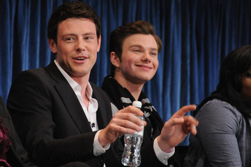 """Chris Colfer Cory Monteith Paley Center For Media's Paleyfest 2011 Event Honoring """"Glee"""""""