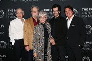 """(L-R) Eliot Feld, Russ Tamblyn, Rita Moreno, George Chakiris and Rob Marshall attend """"Words On Dance: Jerome Robbins and West Side Story"""" presented by The Paley Center for Media at The Paley Center for Media on October 11, 2018 in Beverly Hills, California."""