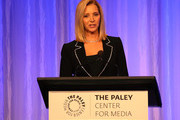 Lisa Kudrow appears on stage at The Paley Honors: A Special Tribute To Television's Comedy Legends at the Beverly Wilshire Four Seasons Hotel on November 21, 2019 in Beverly Hills, California.