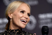 Kristin Chenoweth arrives at PaleyLive LA Presents An Evening With Kristin Chenoweth: In Conversation at The Paley Center for Media on February 27, 2019 in Beverly Hills, California.