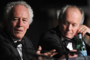 Directors Luc Dardenne (L) and Jea-Pierre Dardenne speak at the Palme d'Or Winners Press Conference during the 64th Annual Cannes Film Festival at Palais des Festivals on May 22, 2011 in Cannes, France.