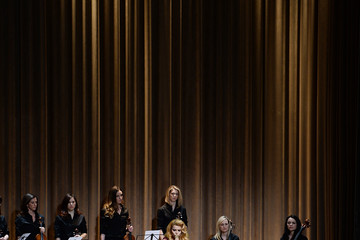 Paloma Faith Burberry Womenswear Autumn/Winter 2014 - Front Row & Show