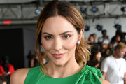 Katharine McPhee attends the front row for Pamella Rowland during New York Fashion Week: The Shows on September 10, 2019 in New York City.
