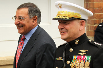 James Cartwright Panetta Attends Farewell Tribute For Joint Vice Chairman Gen. Cartwright