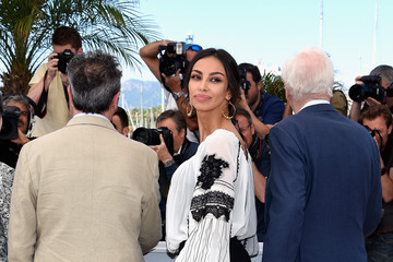 Paolo Sorrentino Madalina Ghenea 'Youth' Photocall - The 68th Annual Cannes Film Festival