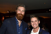 """(L-R) Derek Theler and Linc Hand attend Paramount Network's """"68 Whiskey"""" Premiere Party at Sunset Tower on January 14, 2020 in Los Angeles, California."""