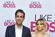 """Bobby Cannavale and Rose Byrne attend the Paramount Pictures' """"Like A Boss"""" World Premiere at the SVA Theater on January 7, 2020 in New York, New York."""