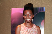 "Actress Adepero Oduye attends the ""Pariah"" premiere at the Tribeca Grand Hotel on December 1, 2011 in New York City."