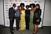 "Co-Director of TIFF Cameron Bailey, producer Nekisa Cooper, actress Adepero Oduye, writer/director Dee Rees, actors Kim Wayans and Pernell Walker attend ""Pariah"" Premiere at TIFF Bell Lightbox during the 2011 Toronto International Film Festival on September 12, 2011 in Toronto, Canada."