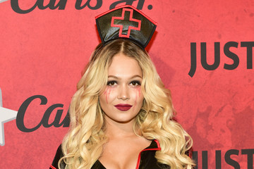 Paris Berelc Stars Attend Just Jared's 7th Annual Halloween Party