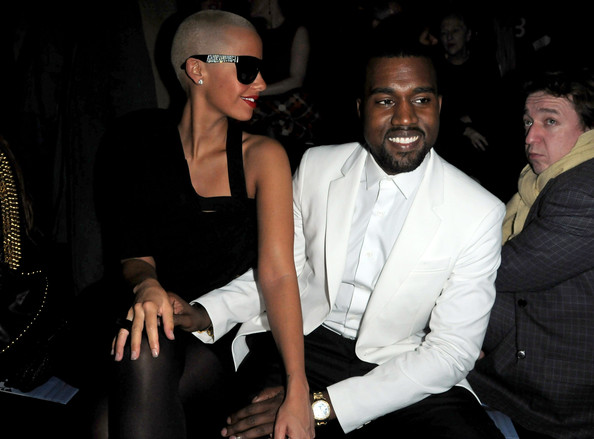 Celebs Who've Dated Rappers » Celeb News/Amber Rose Dated Kanye West