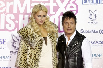 Nano Barea Paris Hilton Attends Supermartxe VIP Party