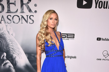 "Paris Hilton Premiere Of YouTube Originals' ""Justin Bieber: Seasons"" - Red Carpet"